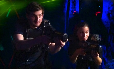 Roller-Skating or Laser Tag with Pizza for Two or Four at Dreamland Skate Center and Skater&#x27;s Choice (Up to 65% Off)