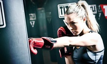 Two Weeks or One Month of Boxing and Kickboxing Classes with Hand Wraps and Gloves at Title Boxing Club (Up to 62% Off)