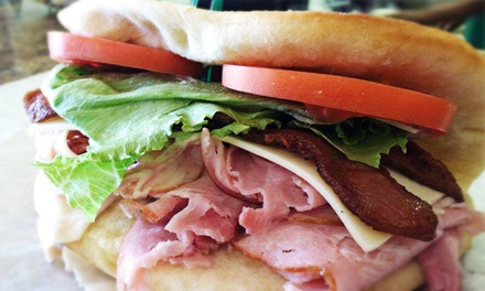 Pizza Meal for Four or $11 for $20 Worth of Deli Sandwiches at Great Lakes Sandwich Co. & Cafe