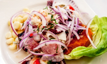 $17 for $30 Worth of Peruvian-Sushi Fusion Cuisine for Lunch or Dinner at Bento Ceviche Bar & Sushi