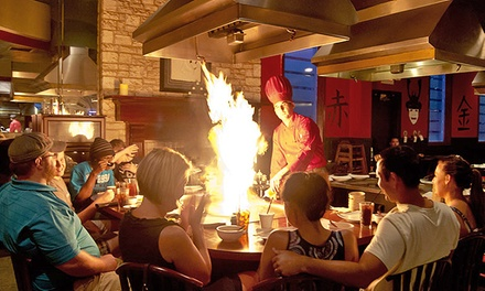 $18 for $30 Worth of Japanese Cuisine at Sumo Japanese Steakhouse