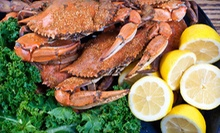 Seafood and American Cuisine at Steamers Seafood House in (Half Off). Two Options Available.