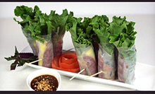 Vietnamese Cuisine at La Lot Restaurant and Bar (Half Off). Two Options Available.