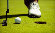 18-Hole Round of Golf for Two or Four with Cart and Range Balls at The Golf Club at Camelot (Up to Half Off)