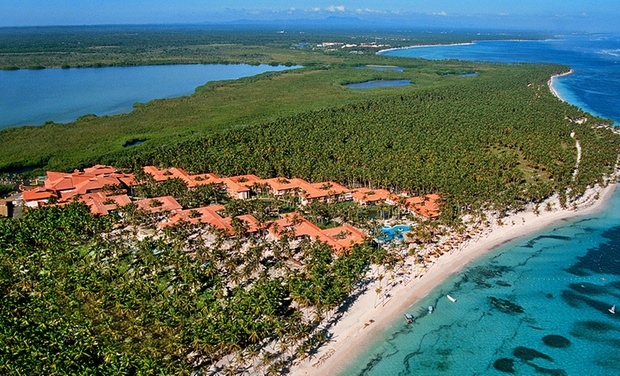 TripAlertz wants you to check out ✈ All-Inclusive Natura Park Beach Eco Resort & Spa Stay w/ Air, Taxes & Fees; Price per Person Based on Double Occupancy ✈ All-Inclusive Dominican Vacation with Airfare - All-Inclusive Dominican Vacation