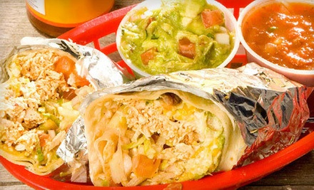 Mexican Food for Two or Four at Fuzzys Taco Shop (Up to 55% Off). Three Options Available.