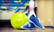 Two Hours of Bowling for Two or Five with a One-Topping Pizza at Cave Springs Lanes (Up to 71% Off)