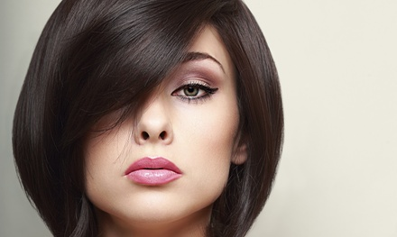 Women's and Men's Haircut Packages at The Final Cut Hair Studio (Up to 56% Off). Four Options Available.