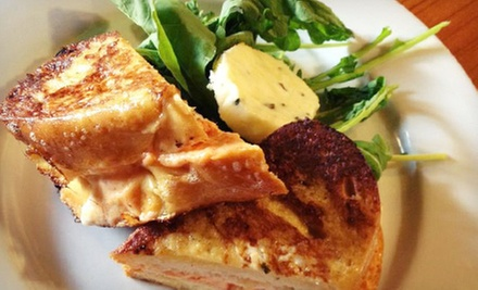 $10 for $20 Worth of Bistro Cuisine and Apparel at Bows and Arrows