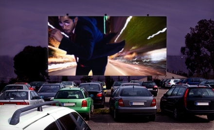 $10 for a Movie for Two with Popcorn at Dixie Twin Drive-In ($20.50 Value)