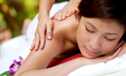 60-Minute Deep-Tissue Massage at bua massage llc (missing id d30b8a1f-47e8-c126-f373-3cd27a1517ca Off)