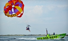 Parasailing for One or Two from Sebastian Inlet Parasailing (Up to 52% Off)