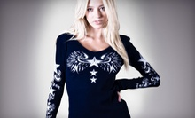 American-Made Womens Casual Apparel at Sledge USA (Up to 55% Off). Two Options Available.