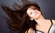 Haircut and Color Packages at It's All About Me Salon & Day Spa in Garwood (Up to 61% Off). Three Packages Available.