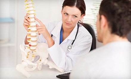 $35 for a Chiropractic Consultation, X-rays, Adjustment, and Massage at Vibrance Family Chiropractic ($295 Value)
