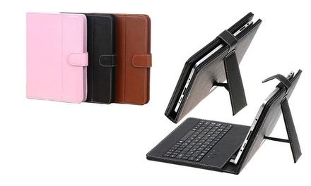 Capa universal para tablet por 10,90€ ou com teclado integrado por 15,90€