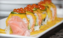 $15 for $30 Worth of Japanese Cuisine with Two Beers at Aodake Sushi &amp; Steak House ($37.50 Value)