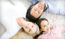 Carpet Steam Cleaning of Three Rooms and Hallway or One Full House from The Dirt Doctor (Up to 70% Off)
