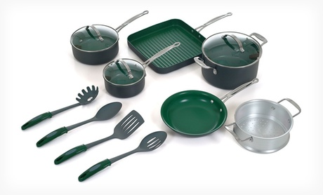 $129.99 for an Orgreenic 13-Piece Nonstick Cookware Set ($329.99 List Price). Free Shipping and Free Returns.