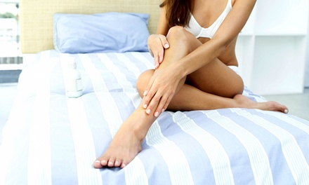 Six Laser Hair-Removal Treatments at Jardin Bleu Spa (Up to 84% Off). Four Options Available.