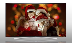 "Enter To Win A Samsung 1080p 55"" Curved Smart Led Tv"