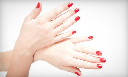 One or Three Basic Mani-Pedis at Rafaels Hair &amp; Beauty Studio (Up to 54% Off)