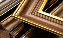$55 for $125 Worth of Framing Services at Frame Central