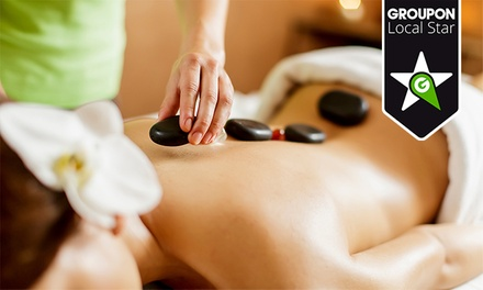 ONEspace — Av. 5 de Outubro:massagem de pedras quentes para uma ou duas pessoas desde