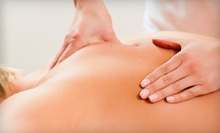 One or Three 60-Minute Massages at Roselle Chiropractic (Up to 56% Off)