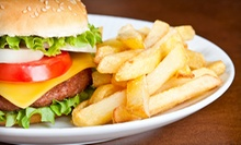 Burgers and Fries with Soft Drinks for Two or Four at Chequers of La Grange (Up to 56% Off)