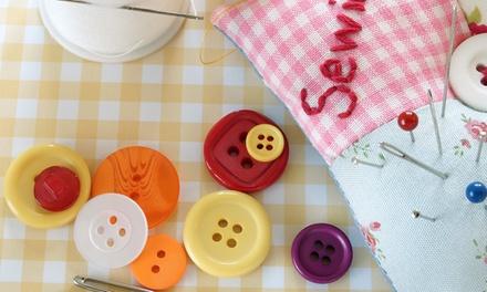 Casa de Costura de Alvalade: workshop de costura criativa de nível I para uma ou duas pessoas desde 24,90€