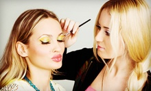 One or Two Party-Makeup Applications with Airbrushing and Eyelashes at Fashion Face (Up to 59% Off)