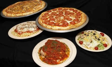 Dine-In or Takeout Pizza at Michaelangelo's Pizza (Up to 44% Off)
