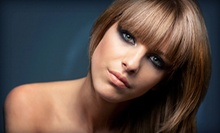 Haircut and Deep Conditioning with Optional Full Color or Partial or Full Highlights at Hairs 2 U (Up to 57% Off)