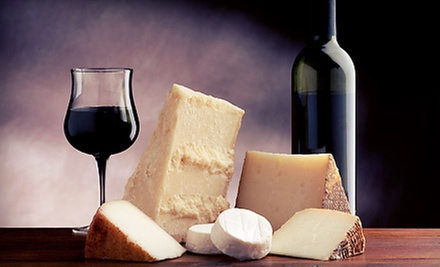 Wine Glasses, Cheese and Cracker Plates, and $20 Gift Card for Two or Four at Willowcroft Farm Vineyards (Up to 54% Off)