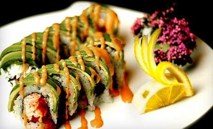 Sake Tasting and Sushi for Two or Four at Sushi Omakase (Up to 56% Off)