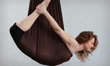 5 Aerial Yoga Classes, 10 Non-Aerial Yoga Classes, or 1 Month of Non-Aerial Yoga Classes at Yoga Studio (Up to 74% Off)