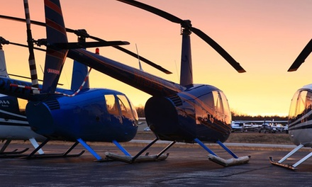 One or Three Private Flying Lessons with Ground School and Hands-On Flights from C-R Helicopters (Up to 48% Off)