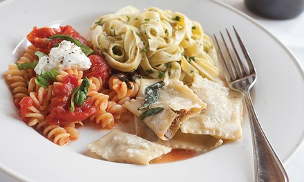 $70 Three Course Pasta Tasting with Wine for Two at Lidia's Italy