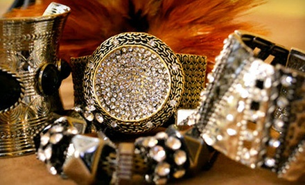 Jewelry and Accessories at Bitz n&#x27; Pieces Boutique (Up to 53% Off). Two Options Available.