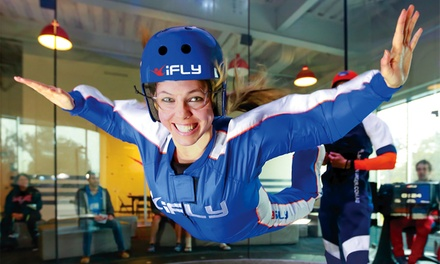$39 for Two Indoor-Skydiving Flights for One Person and Two Flight Photos at iFly SF Bay ($74 Value)