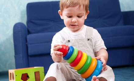 Four or Eight Parent-Child Play Classes at Wee Play (Up to 64% Off)