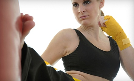 One-, Three-, or Six-Month Unlimited Kickboxing-Gym Membership at 9Round (Up to 57% Off)