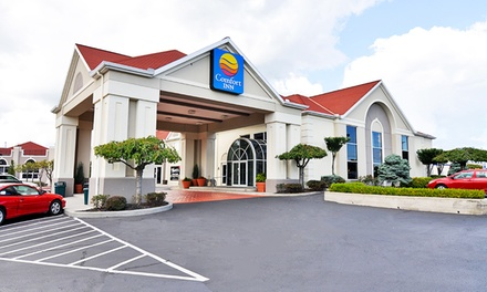 groupon daily deal - Stay at Comfort Inn Sandusky in Ohio, with Dates into June