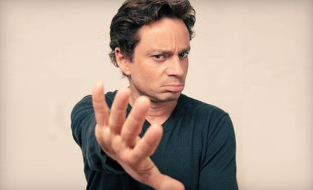 Chris Kattan Standup-Comedy Show at Wise Guys Comedy Club on May 2426 (Up to Half Off). Five Showtimes Available.