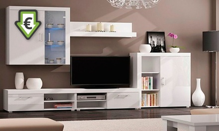 Conjunto de móveis de sala disponível nos modelos Delta e Gamma desde 389€