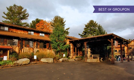 groupon daily deal - Stay with Daily $25 Resort Credit at Pinegrove Family Dude Ranch in the Catskills. Dates into June.