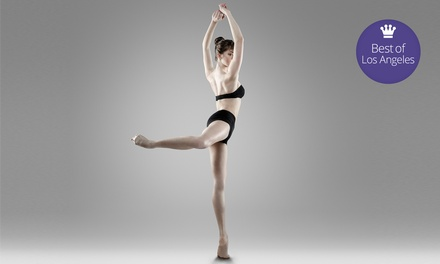$39 for 10 Classes at Cardio Barre Beverly Hills ($160 Value)
