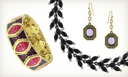 Vintage-Inspired Jewelry at 1928 Jewelry Company (Half Off). Two Options Available.