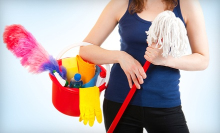 One or Two Two-Hour Housecleaning Sessions from AZM Cleaning Services (Up to 59% Off)